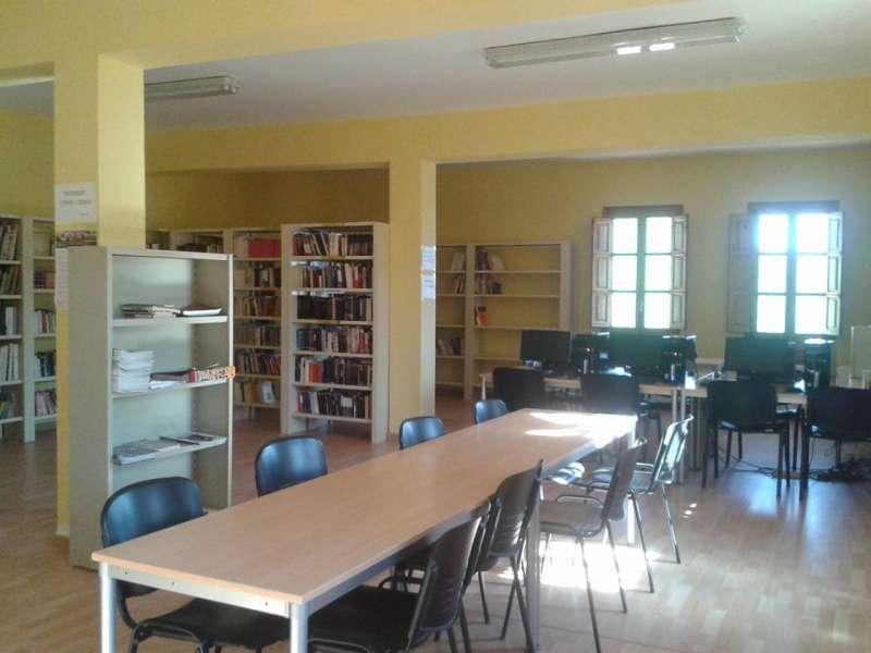Instalaciones del interior de la casa de la cultura. EPDA.