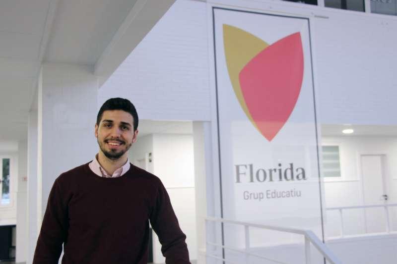 El estudiante de Florida Universitària José Vicente Marqués