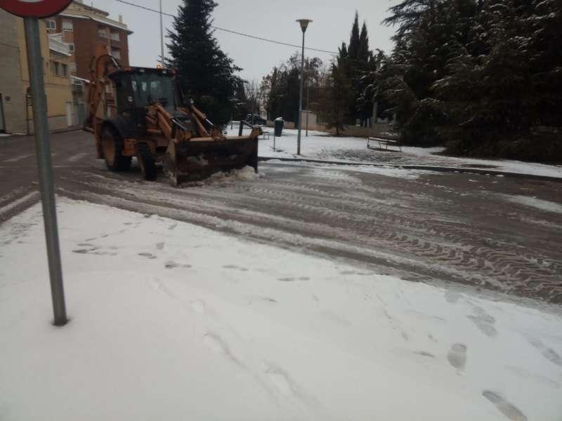 Limpieza de carreteras