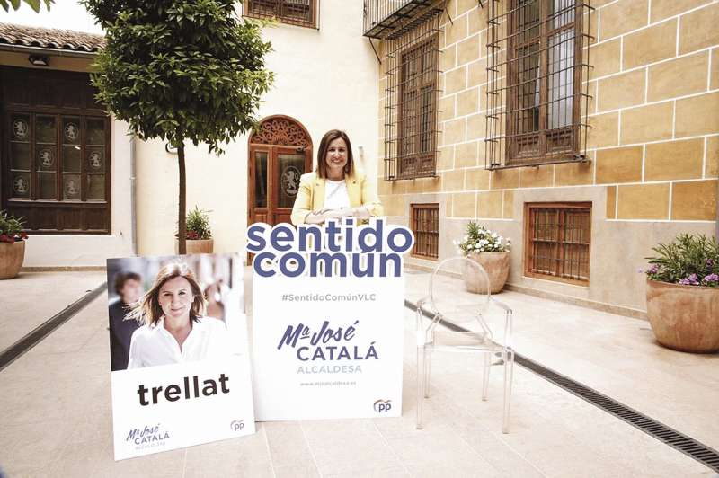 Mar�a Jos� Catal� busca sentido com�n para Val�ncia.