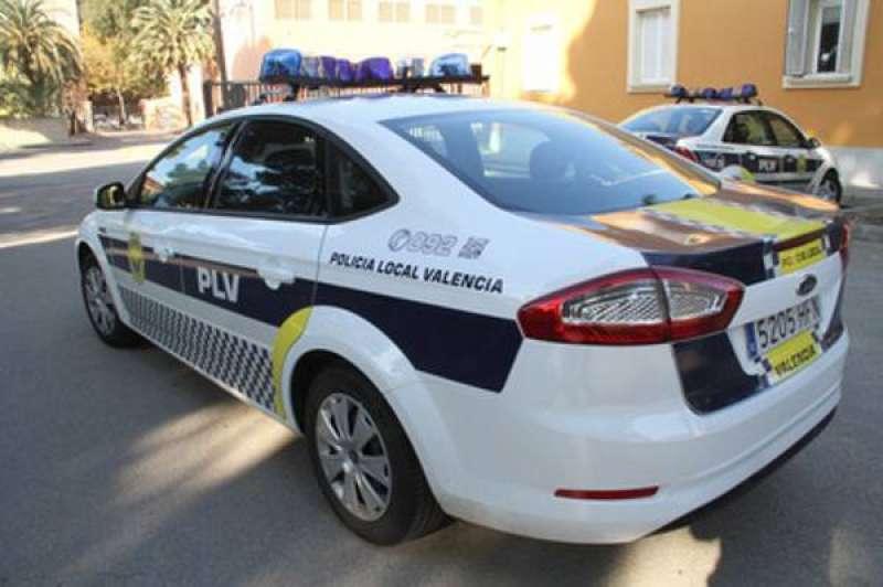 Imagen de archivo de un vehículo de la Policía Local de Valencia