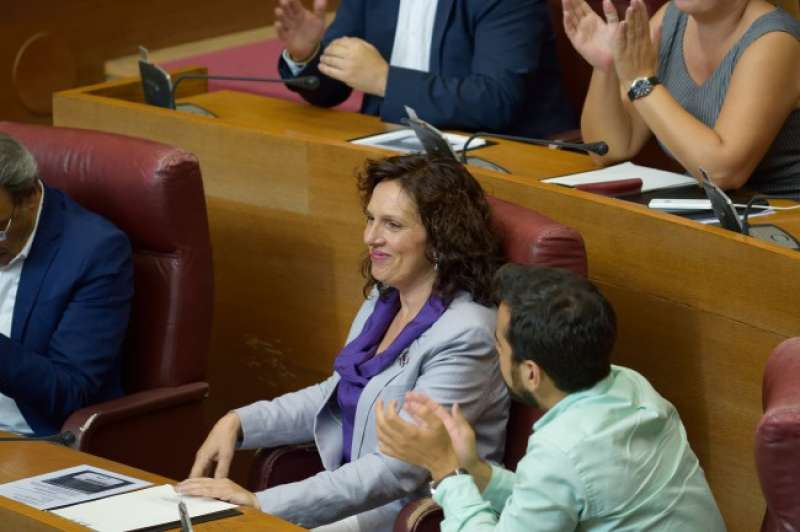 Carmen Martínez, portavoz de Sanidad del PSPV-PSOE