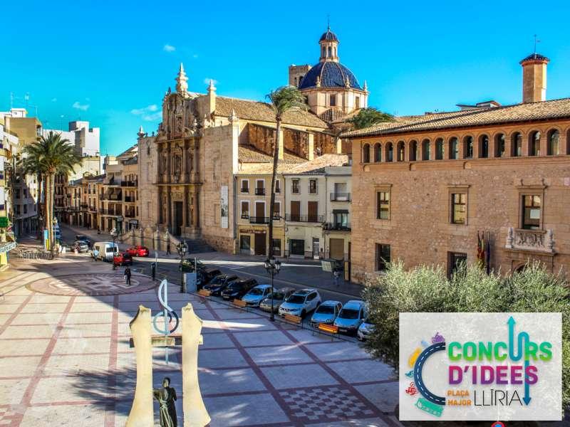 Plaza Major de Llíria. / EPDA