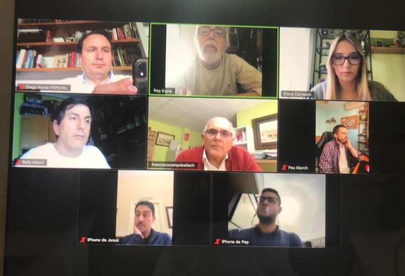 Reunión por videoconferencia. EPDA