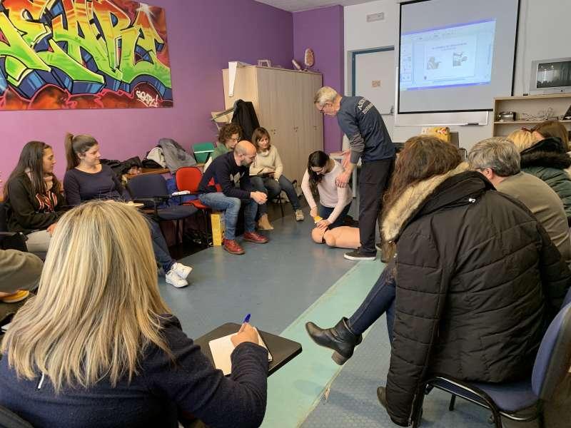 Participantes del taller teórico-práctico. EPDA
