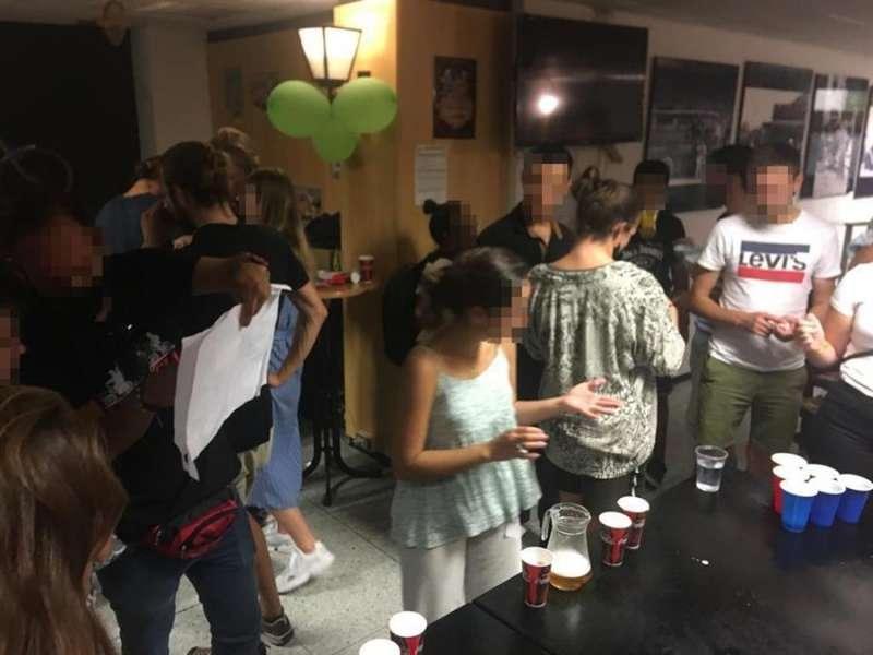 Momento de la fiesta, en una imagen facilitada por las autoridades.
