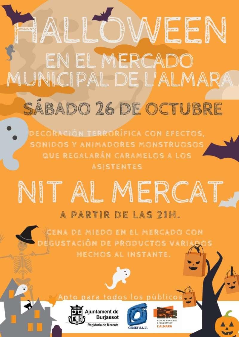 Cartel de la celebración de Halloween. EPDA