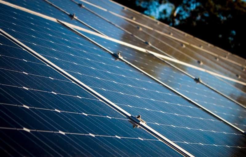 Energía solar. Imagen de archivo.