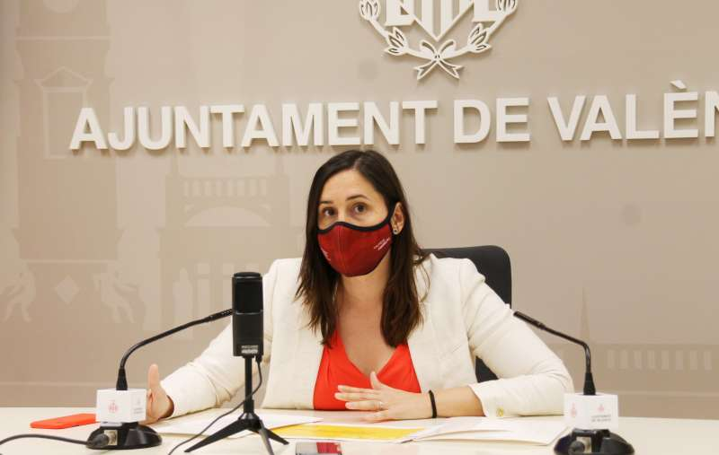 La concejala del Ciclo Integral del Agua, Elisa Valía.