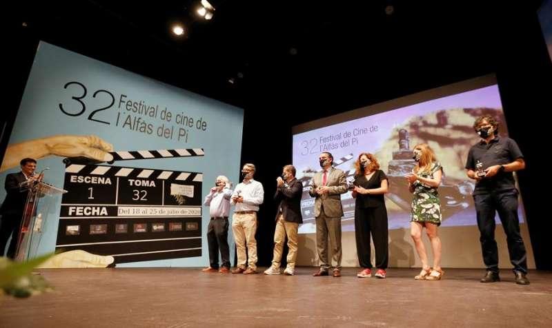 Un instante del Festival de Cine de Alfaz del Pi. EFE