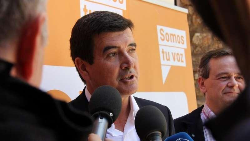 El portavoz de Cs en el Ayuntamiento de Valencia, Fernando Giner. / EPDA