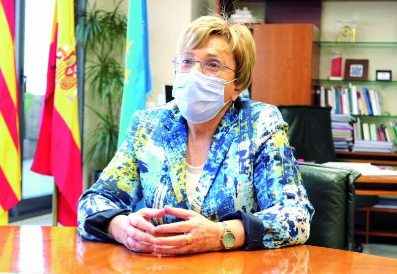 Ana Barceló, en la entrevista a El Periódico de Aquí. EPDA