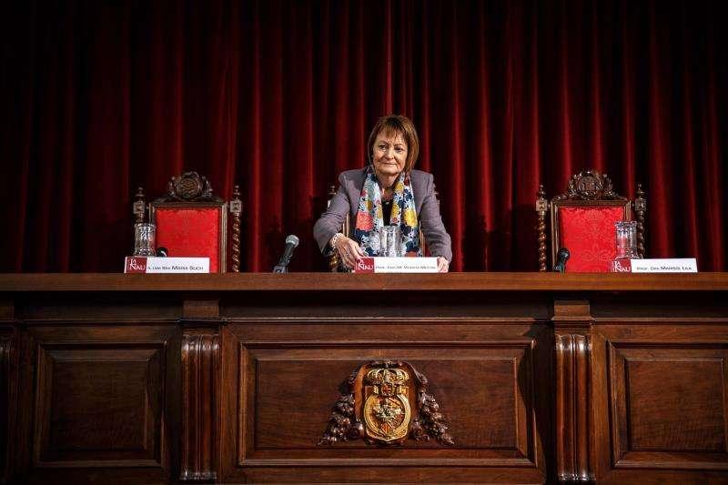 La rectora de la Universitat de Valencia, Mavi Mestre. EFE/Archivo