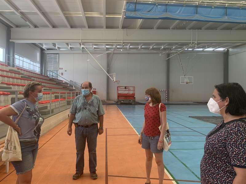 Una de las visitas en las instalaciones municipales. EPDA