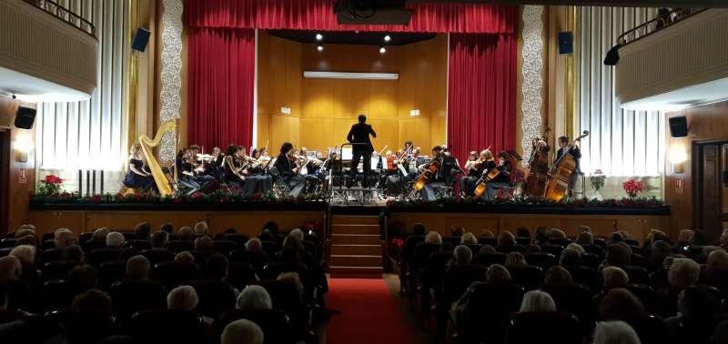 Imagen del concierto de Año Nuevo de 2020
