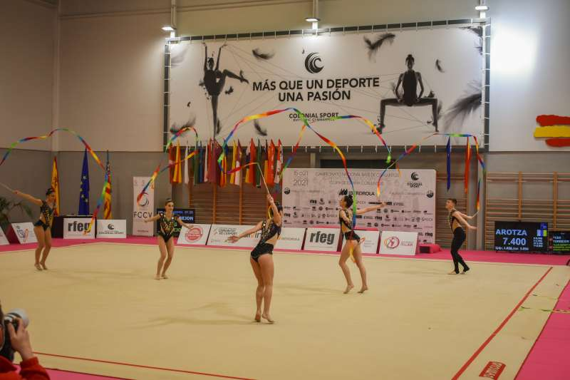 Alfafar gimnasia. EPDA