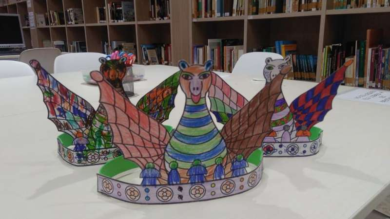 Corona de Jaume I elaborada en el taller. EPDA