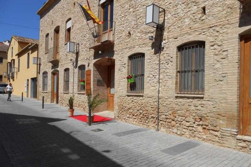 El hotel la Muralleta de Riba-roja de Túria. / EPDA