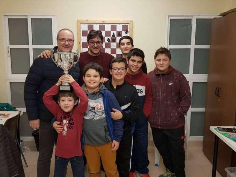 El club de ajedrez Educart. EPDA