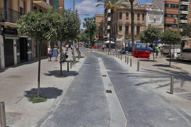 Reforma Plaza Mayor de Torrent./EPDA