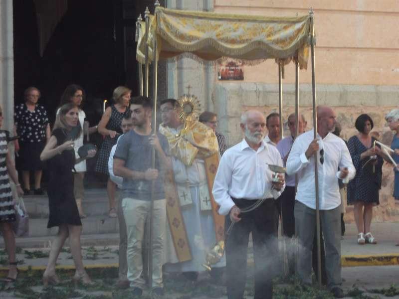 Procesión del Corpus Christi. EPDA