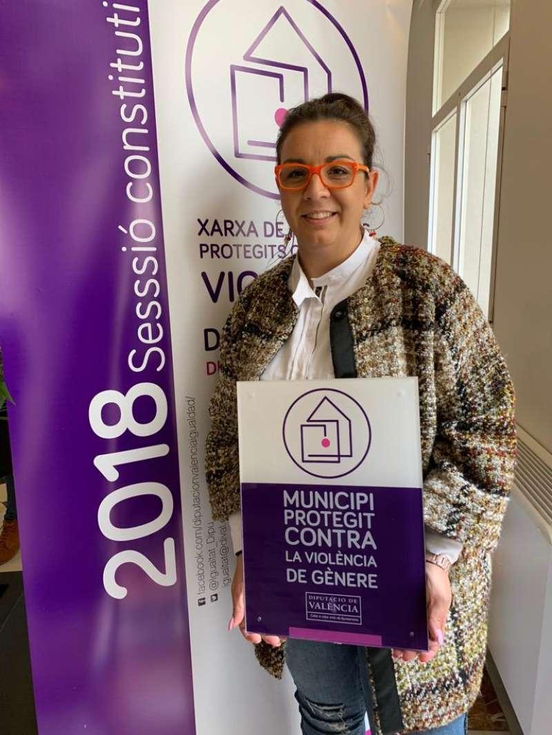 La regidora d?Igualtat, Diversitat i Polítiques Inclusives, Lorena Milvaques. EPDA