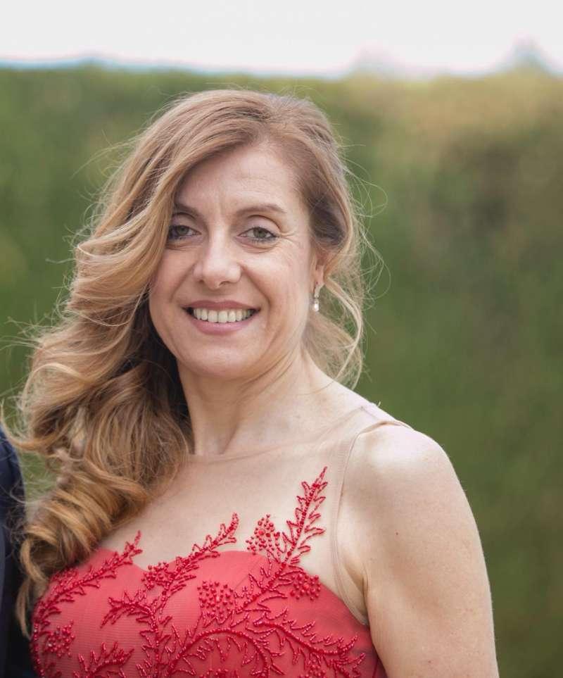 María Ángeles, miembro del Partido Popular y parte de la lista electoral de los populares en las elecciones municipales./epda