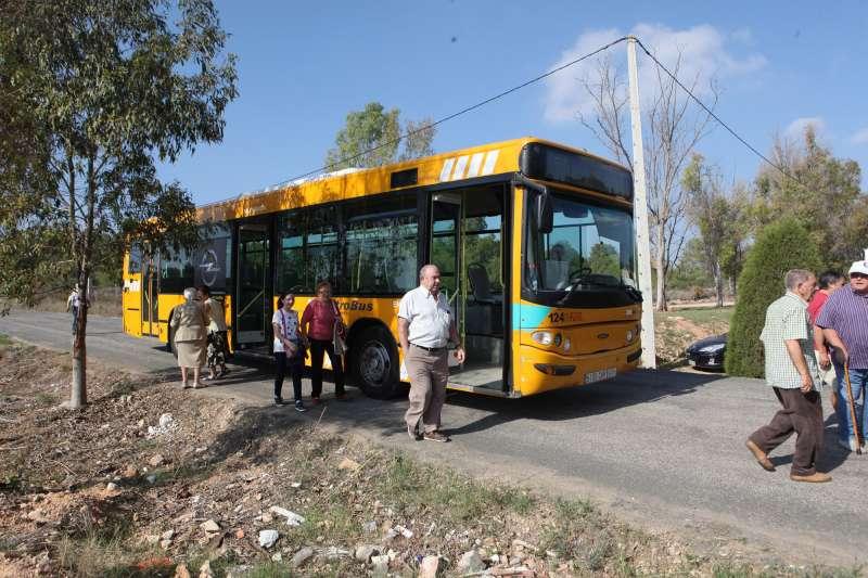 Uno de los autobuses públicos. EPDA