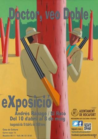 Cartel de la exposición de El Roto. EPDA