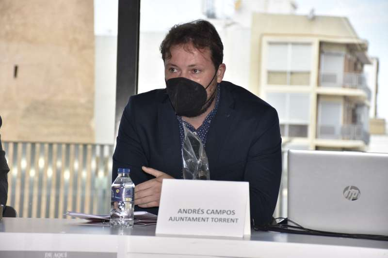 Andrés Campos. PLACIDO GONZÁLEZ