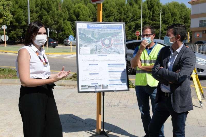 La Diputació inicia les obres de la nova rotonda de la carretera de Picanya al seu pas per Paiporta.