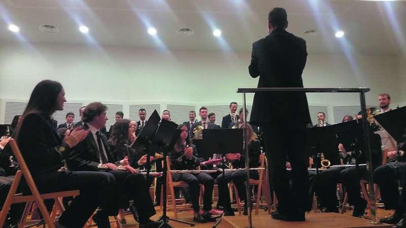 Concert de la banda del Centre Artístic Musical.  EPDA