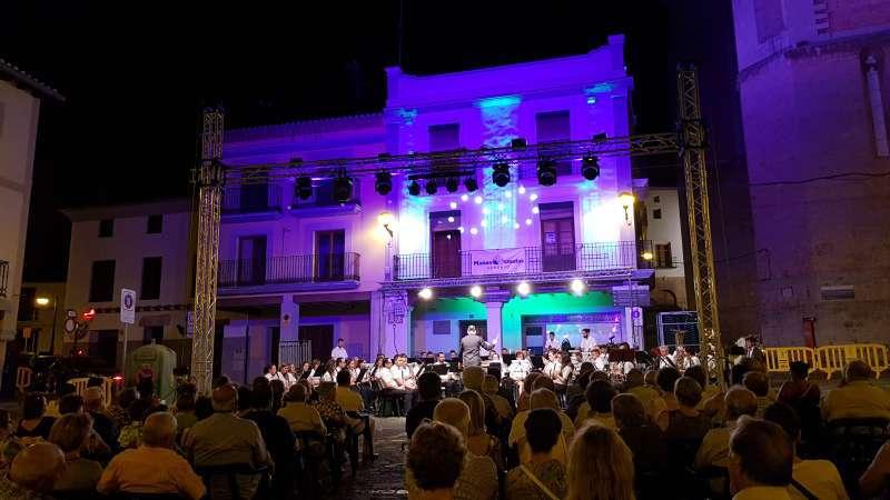 Fiestas patronales en verano de un municipio de la Comunitat Valenciana. Archivo / EPDA