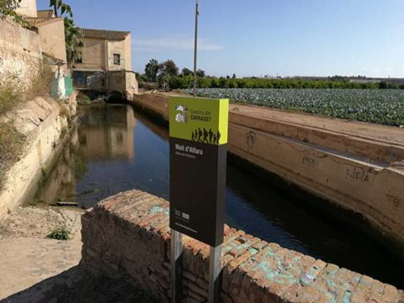 Ruta turística pels pobles del Carraixet. EPDA