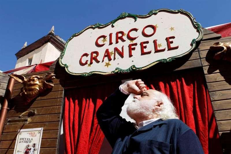 El director del Circo del Gran Fele, Rafael Pla. EFE/ Ana Escobar/Archivo