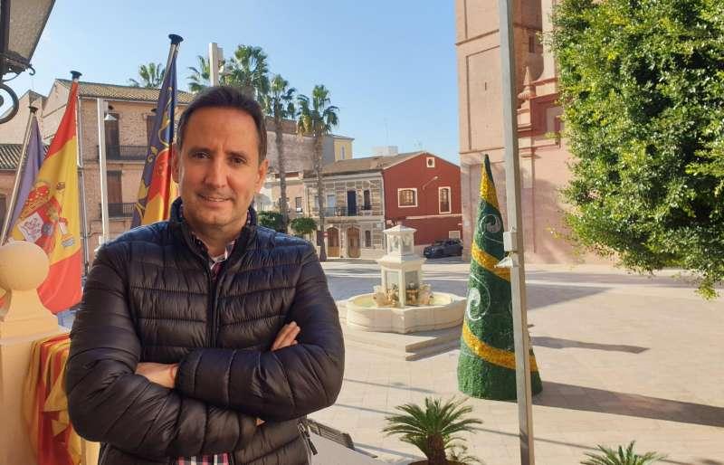 Sergi Ruiz, alcalde de Foios. EPDA