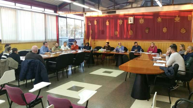 El pleno de la Mancomunitat de Camp de Túria. //EPDA
