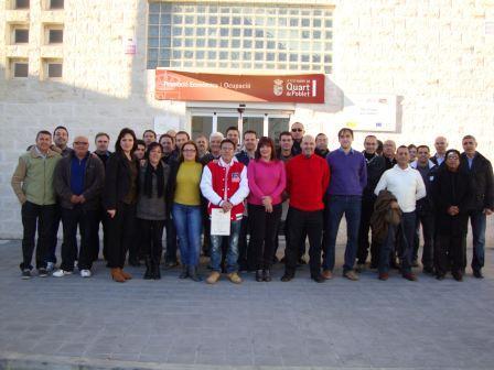 Alumnos del taller. Foto: EPDA.