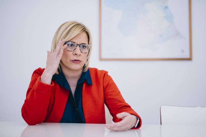 La portavoz municipal popular, Mari Carmen Contelles. / EPDA