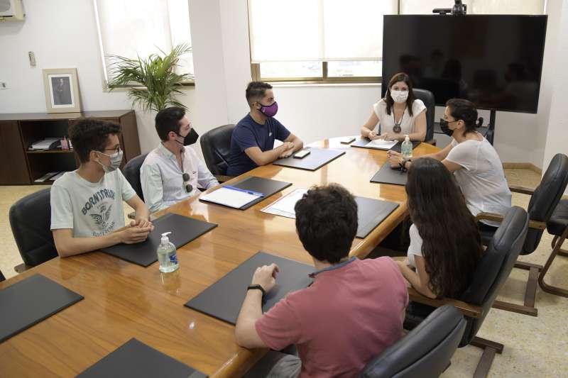 Un moment de la reunió. EPDA