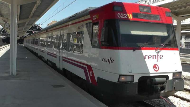 Tren Renfe./Ajuntament Alzira