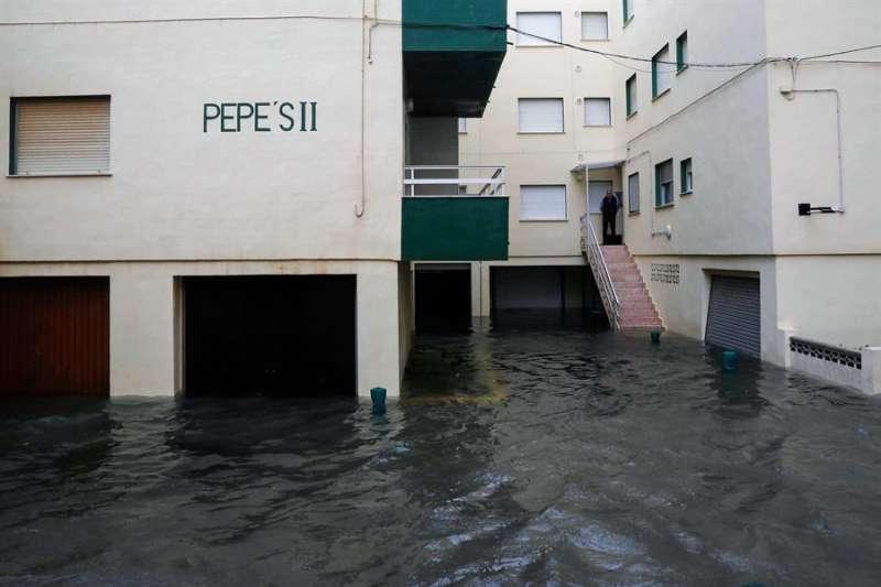 Inundaciones de agua por lluvia
