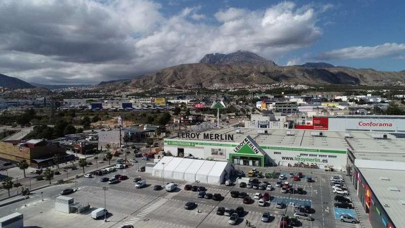 Boulevard comercial de Finestrat