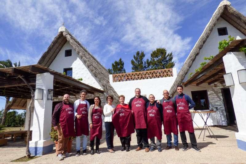 Presentación de las jornadas en El Puig. EPDA