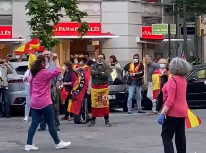 Una de las manifestaciones en la ciudad de Valencia por la calle Salamanca. EPDA