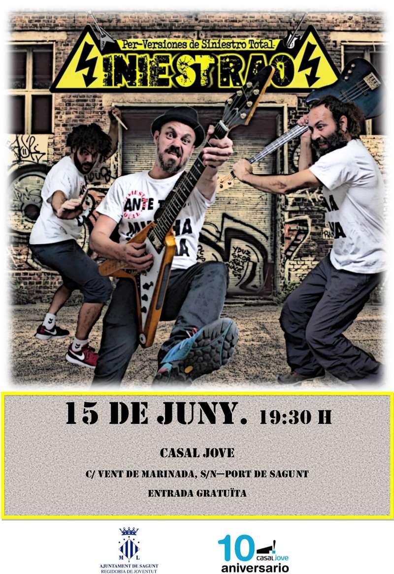 Cartel de la actuación musical. EPDA