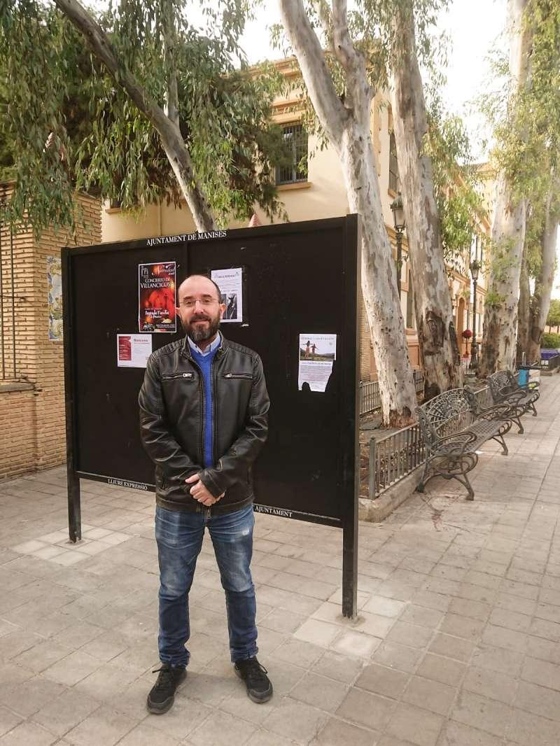 El regidor Manuel Gutiérrez