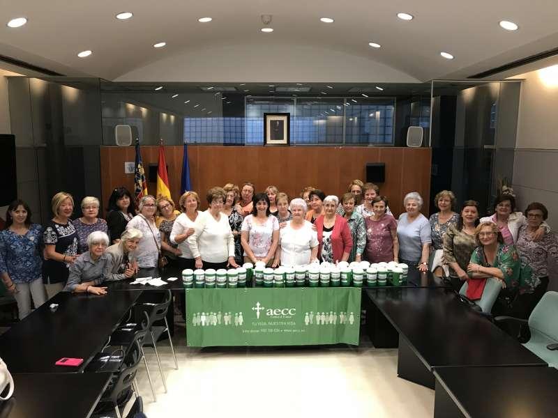 Participantes en la cuestación en Massamagrell. EPDA