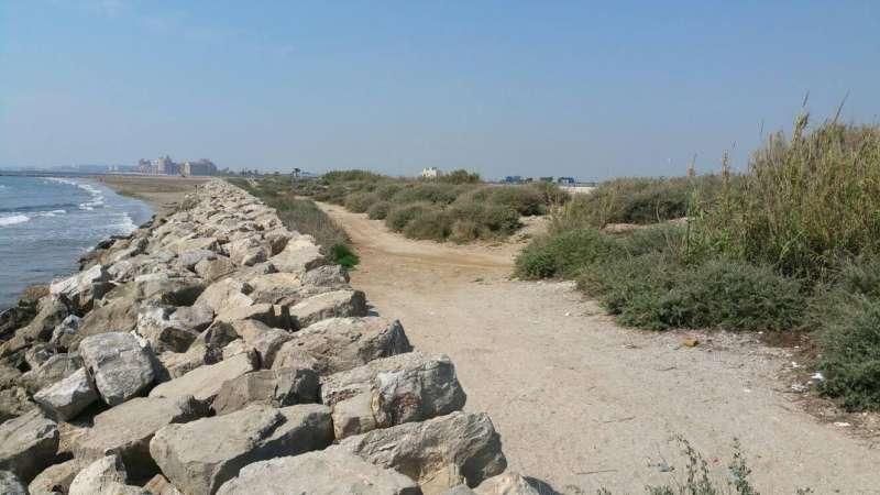 Platges de la zona. EPDA