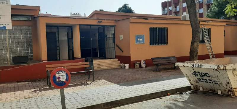 Obres al centre de formació de persones adultes de Meliana. EPDA
